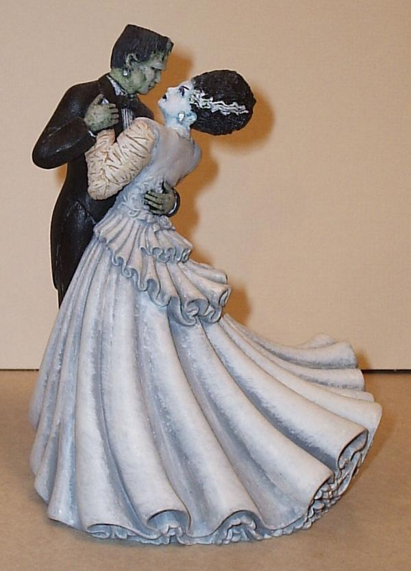 Bride and Monster Cake Topper (CURRENTLY UNAVAILABLE)