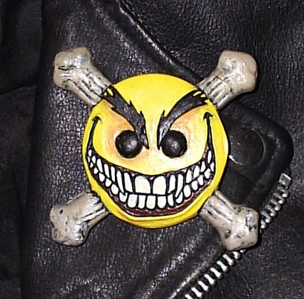 Smiley The Psychotic Button