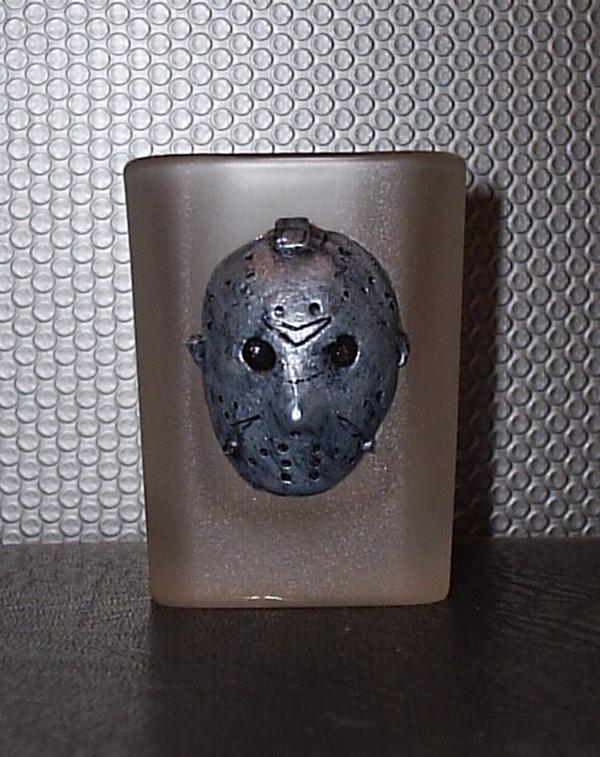 "Jason Shot Glass (""Pewter"" Version)"