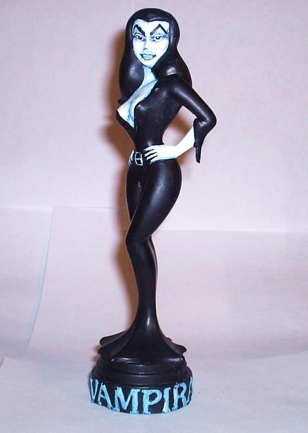 """Animated Vampira"" Statue (Blue Version)"