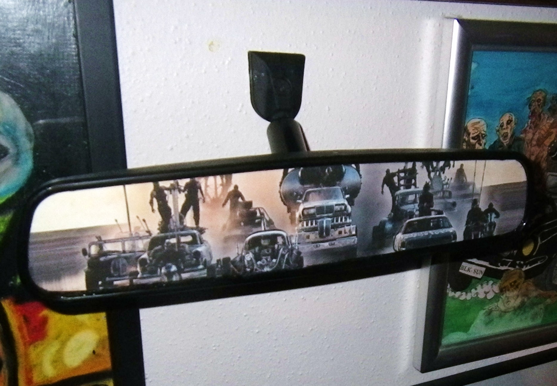Mad Max Fury Road Rearview Mirror
