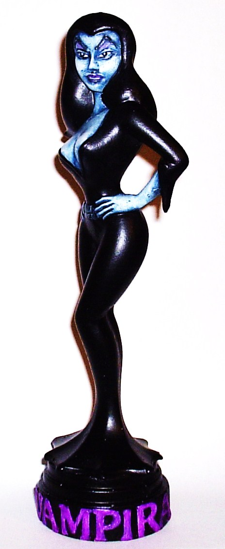 """Animated Vampira"" Statue (Purple Version)"