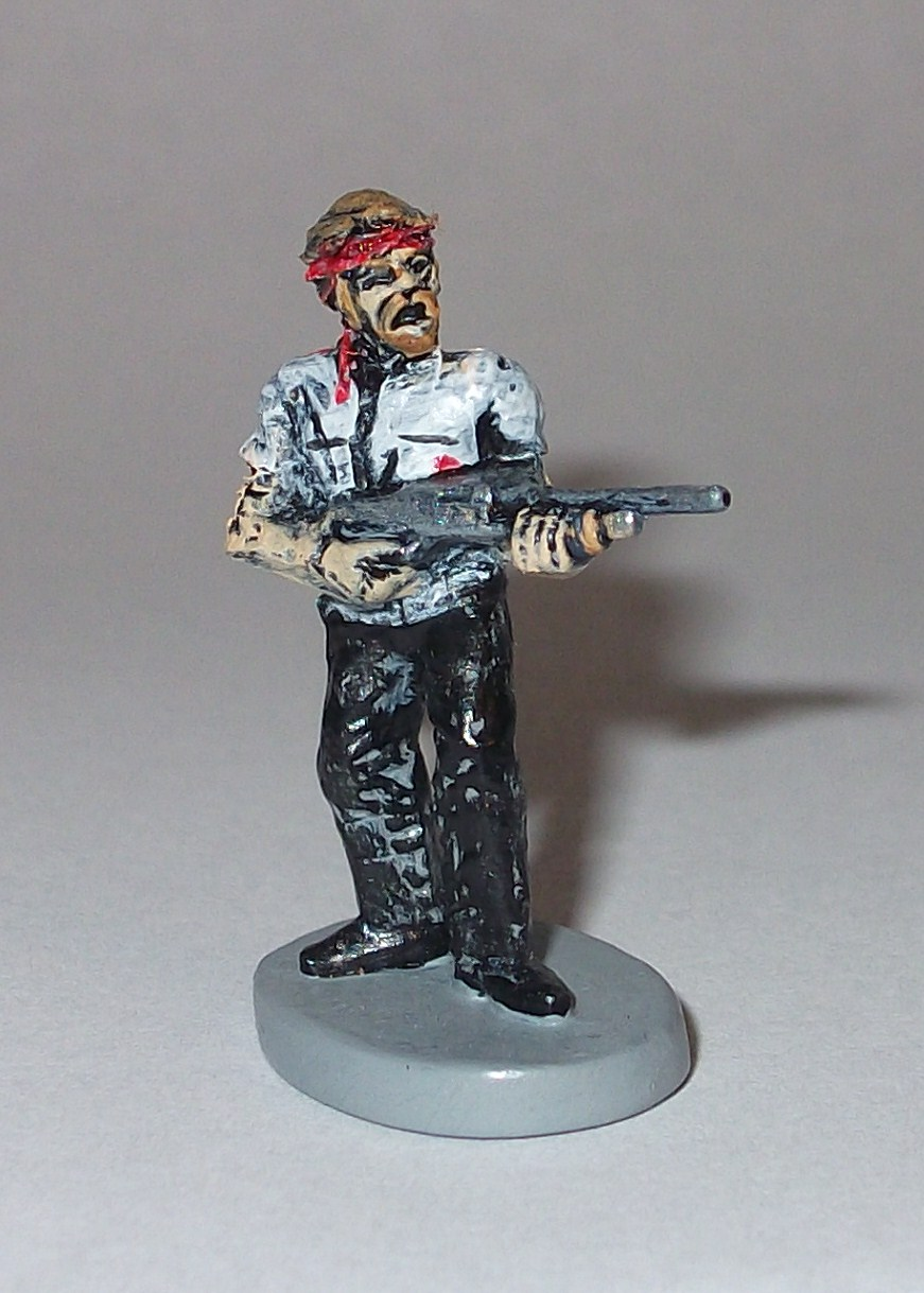 "Winchester Shaun 1 "" custom figure for ""ZOMBIES!!!"" Game"